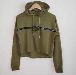 Nordstrom 304 Sweatshirt Cropped Hoodie size XS